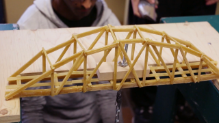 Vanier's Bridge Building Competition 2014