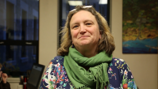 Alena Perout, New Faculty Dean of Social Science, Commerce, Arts, Letters and Music.