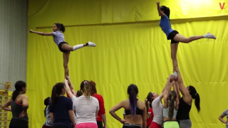 Meet the Vanier Cheetahs Cheerleading Team