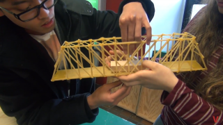 Vanier's Bridge Building Competition 2015