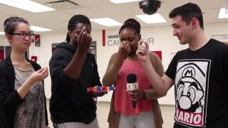 Vanier Does the Bean Boozled Challenge – Gross Jelly Beans!