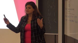 Zeina Gharzouzi Gives Career Advice to Vanier Students