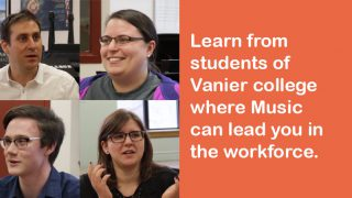 Interested in the Music program at Vanier College?