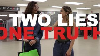 """Vanier Plays: """"Two Lies and a Truth"""""""