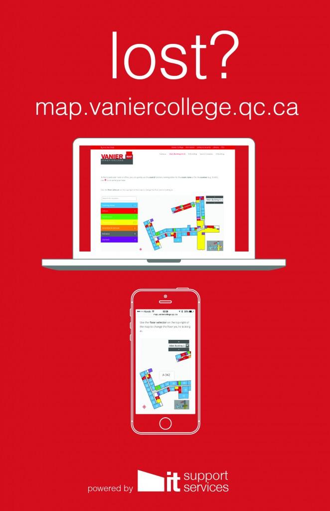 Vanier S New Interactive Campus Map Vanier Tv Vanier College