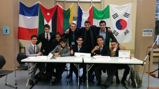 Vanier wins big at Dawson Model UN Competition
