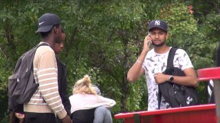 Ignoring People While Texting – Social Experiment