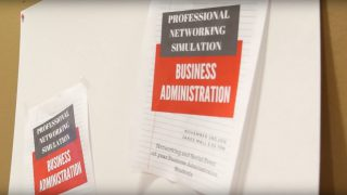 Business Administration's Networking Simulation