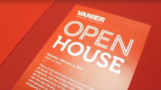 Volunteer to be a Tour Guide for Vanier's Open House!
