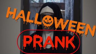 Halloween Prank – The Nun
